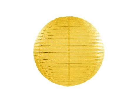 lampion gömb (30 cm) sárga