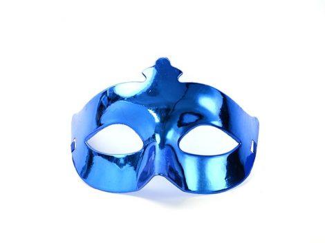 egyszínű álarc kék