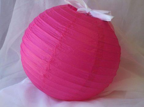 lampion gömb (30 cm) pink
