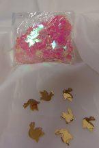 konfetti galamb pink (50 gr)