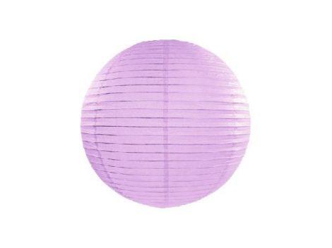papír lampion gömb levendula (20 cm)-002