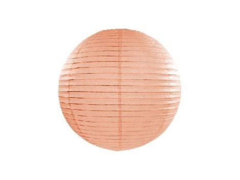 papír lampion gömb barack (20 cm) - 075J