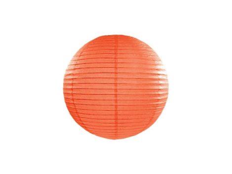 papír lampion gömb narancs (20 cm) -005