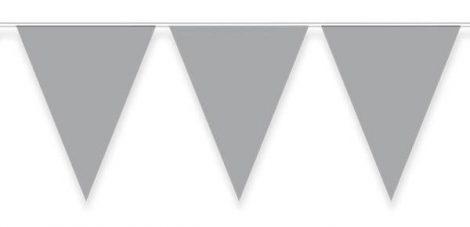 ezüst zászlógirland, 10 m