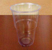 0,5 dl-s, sörös pohár (10 db)