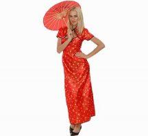 Kínai női farsangi jelmez (38 méret)-086113
