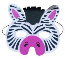 zebra álarc polyfoam