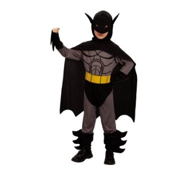 denevérember, Batman farsangi jelmez 120-130 méret -088761