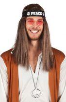 hippie szett (nyaklánc, fejpánt,szemüveg)-44518