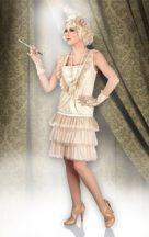 Charleston női jelmez, 44-46 méret-85011
