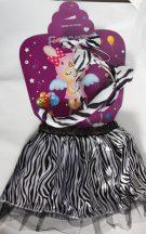Zebra szett (4 részes)- lány