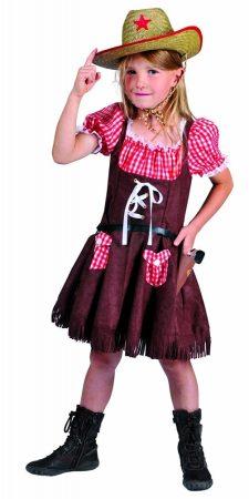 Cowgirl farsangi jelmez , 140 méret (E-402058)
