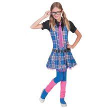 Iskolás lány jelmez, 152 méret ( E-403133)