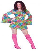 Hippie női jelmez 44-46 méret , E-508299