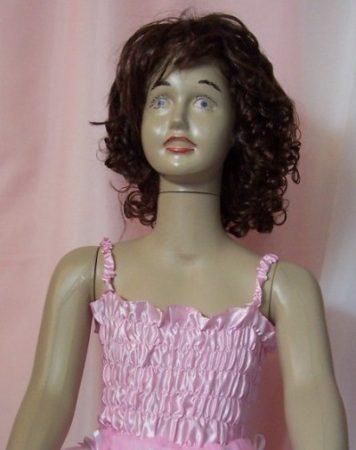 Rózsaszín gumis top (4-6 éves)