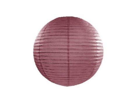 papír lampion 35 cm, bordó (108)