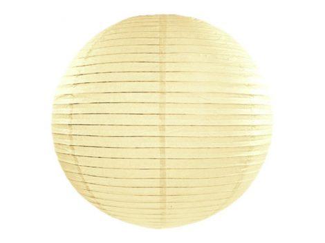 Papír lampion 65 cm , krém