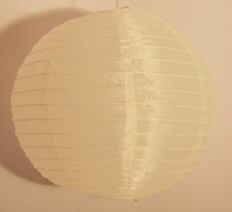 Organza lampion krém (20 cm)