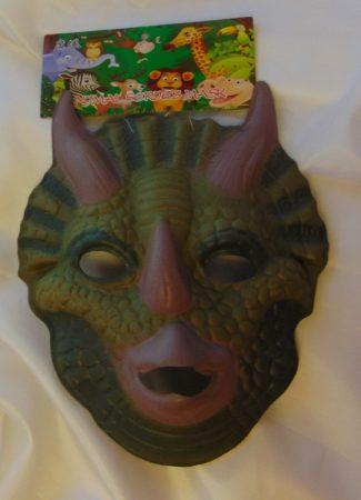 dinoszaurusz álarc polyfoam (gyerek méret)