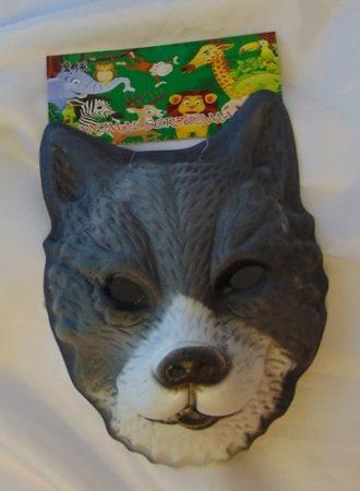 farkas álarc polyfoam (gyerek méret)