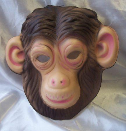 majom álarc polifoam (gyerek méret)