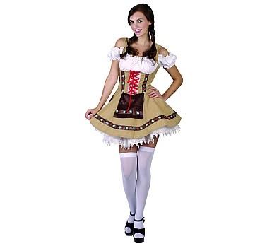 Tiroli/bajor női farsangi jelmez