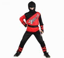 sárkány ninja farsangi jelmez 110-120 méret- 087675