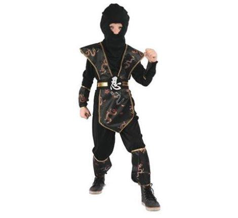 Ninja farsangi jelmez különleges fekete több méretben(16057, 16058)