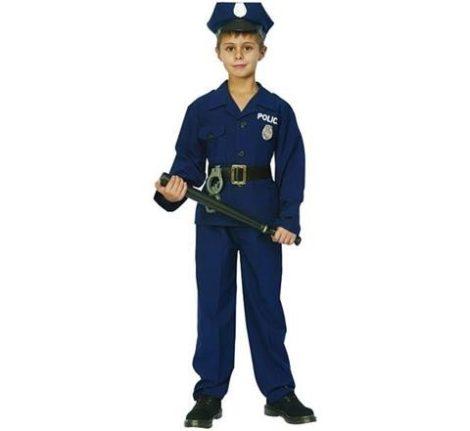 rendőr farsangi jelmez több méretben (16069)