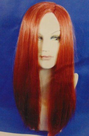 paróka félhosszú, vörös (59-68)