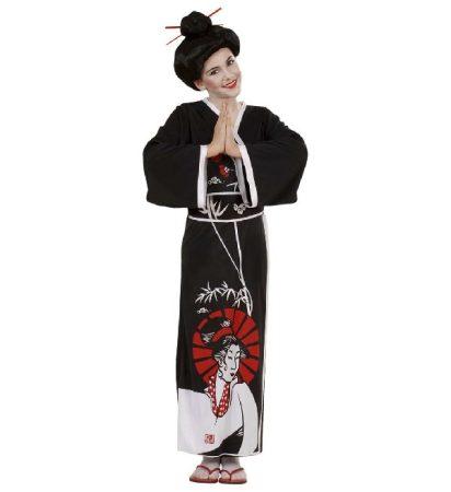 Japán (gésa) farsangi jelmez (140 méret) - 57367