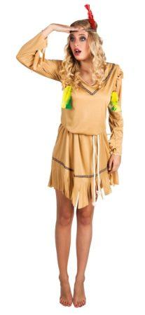 indián női farsangi jelmez (M méret)-83813