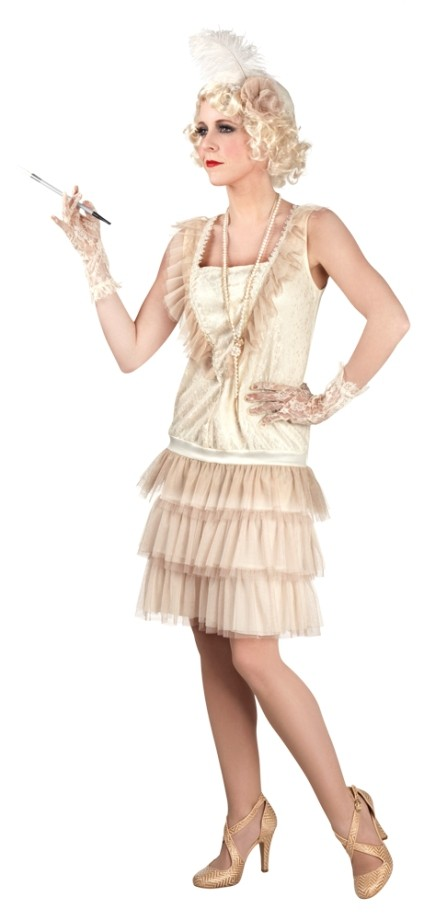 3cb7a8f970 Charleston női farsangi jelmez, 40-42 méret-85010 - jelmez,party ...