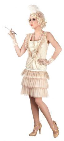 Charleston női farsangi jelmez, 40-42 méret-85010