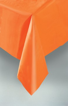 narancs műanyag terítő (137x247)