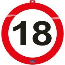 közlekedési tábla 18. (48 cm )