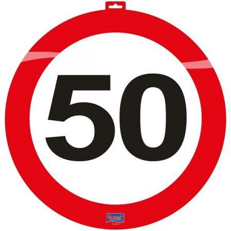 közlekedési tábla 50. (48 cm) - 06150