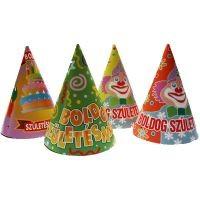 Boldog születésnapot ! kalap (6 db)