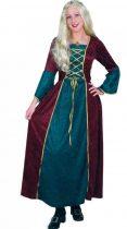 középkori női farsangi jelmez (16264, 16265)