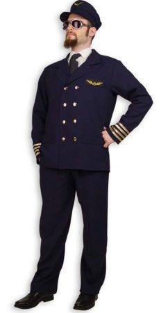 Pilóta farsangi jelmez (54 méret) -29723