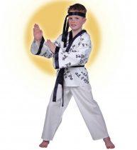 Kung-Fu harcos farsangi jelmez (152 méret)-112918