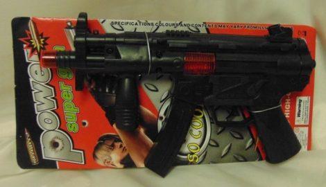Gépfegyver, fekete
