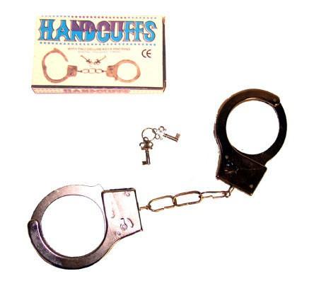 fém bilincs kulccsal (51032-E)