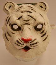 fehér tigris álarc polifoam (gyerek méret)