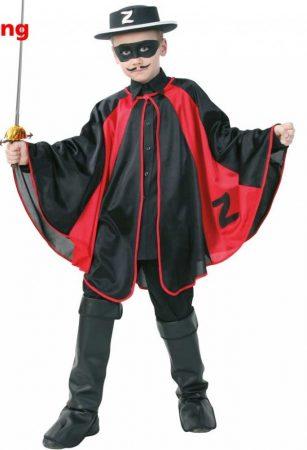 Zorro köpeny (128-140 méret)