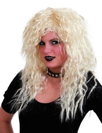 szőke, női, rocker paróka-35681