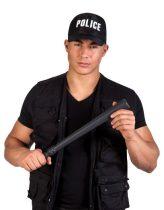 rendőr gumibot (műanyag)-50 cm