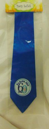 nyakkendő 60.szülinapra, kék
