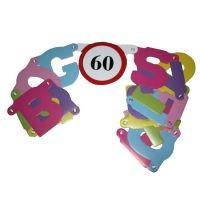 Boldog 60. születésnapot ! betűfüzér