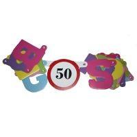 Boldog 50. születésnapot ! betűfüzér